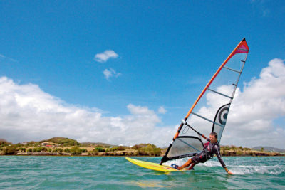 Les équipements nécessaires à la pratique du Windsurf